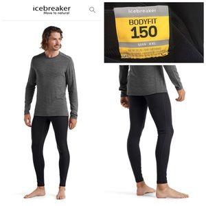 ICEBREAKER | Men's Merino Wool 150 Leggings Sz XXL